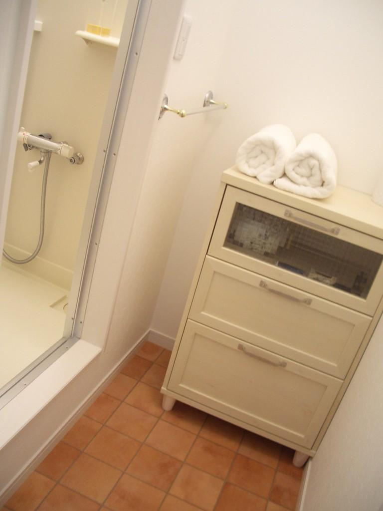 アロマサロン開業シャワールーム