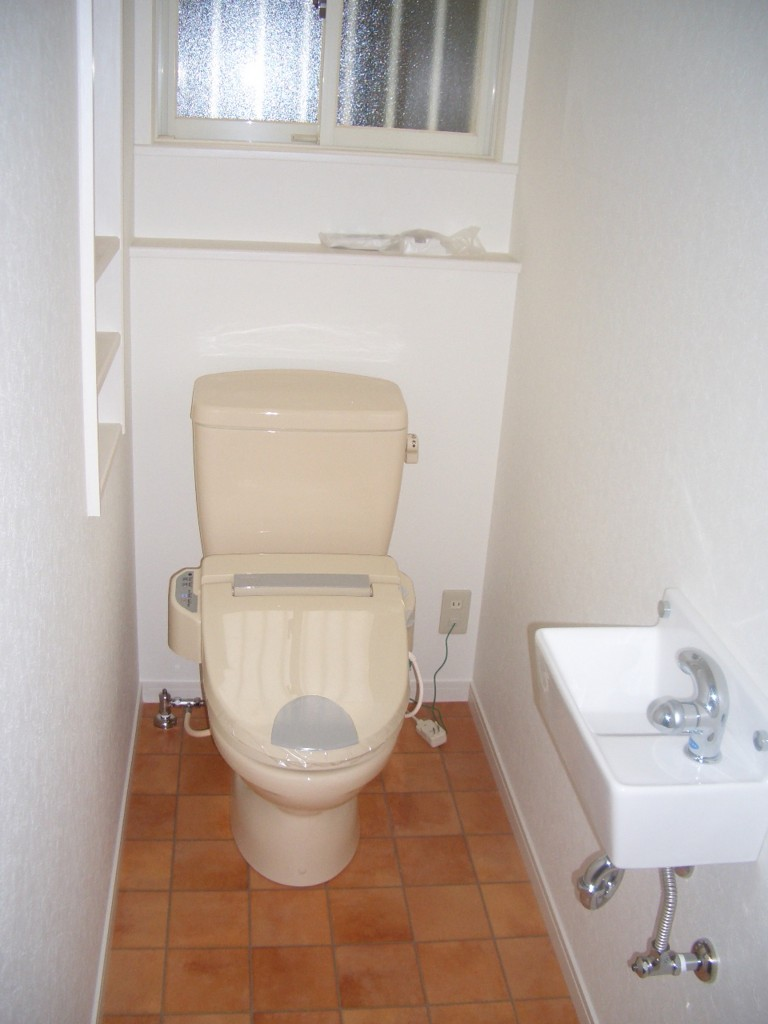 自宅サロンイントイレ