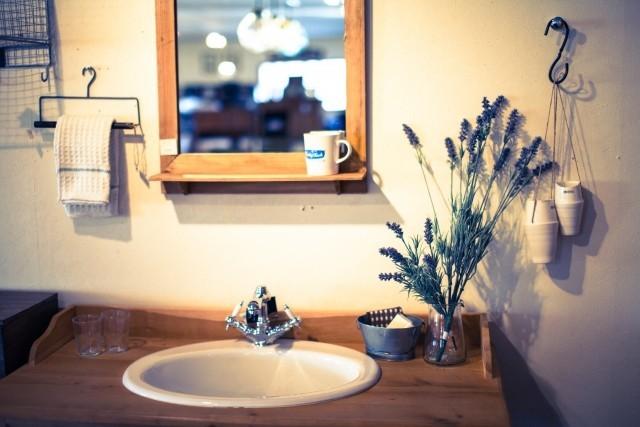 アロマサロン洗面所