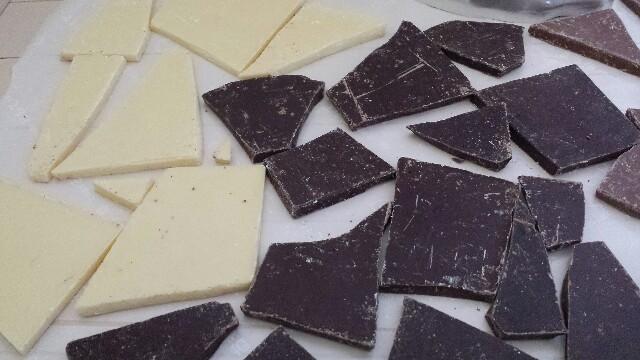 チュベドショコラホワイトチョコ