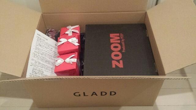 GLADDグラッド友達招待クーポンで買った